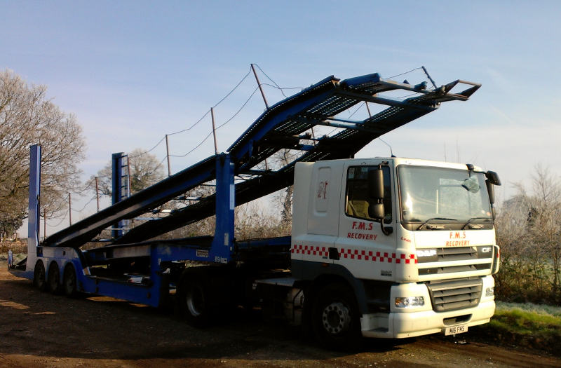 FMS Recovery Lorry